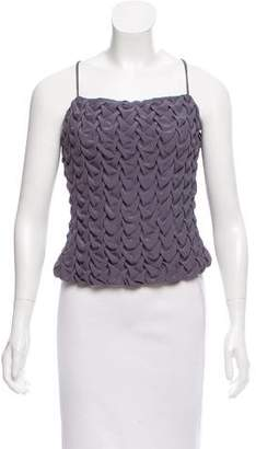 Armani Collezioni Sleeveless Textured Top