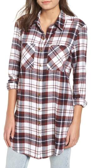 BP. Plaid Flannel Tunic