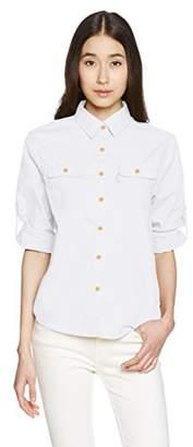 Onyone (オンヨネ) - (オンヨネ) ONYONE レディス長袖チェックシャツ ODJ87603 271 ホワイト M