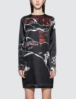 McQ Satin L/S Dress