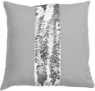 Co Jimco Lamp & Manufacturing Bolton Stripe Mermaid Reversible Sequin Pillow