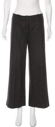 Etro High-Rise Wide-Leg Pants grey High-Rise Wide-Leg Pants