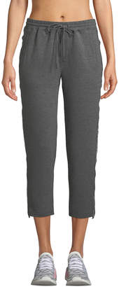 Gottex X By Shimmer-Striped French Terry Capri Joggers