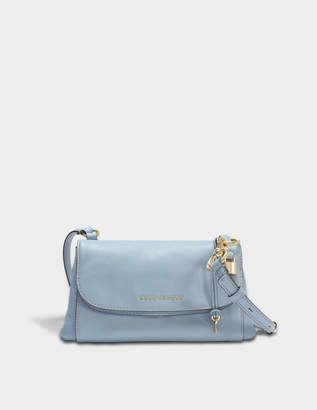 Marc Jacobs Boho Grind Crossbody Bag in Light Blue Cow Leather