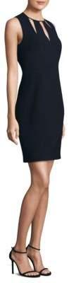 Elie Tahari Jemra Velvet Mini Dress