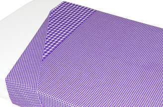 Taftan Checks Small/ Big Top Sheet 120 x 150cm (Red)