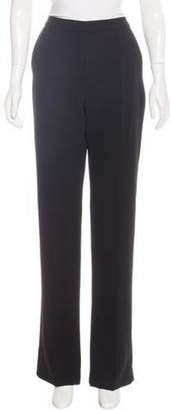 Balenciaga High-Rise Wide-Leg Pants w/ Tags Black High-Rise Wide-Leg Pants w/ Tags