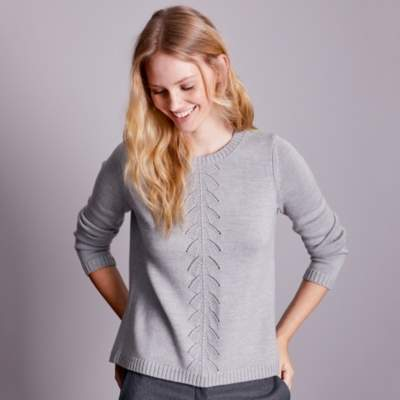 Wool Stitch Front Jumper