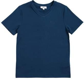 HUGO BOSS Logo Detail Cotton Jersey T-Shirt