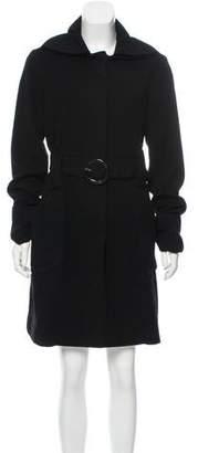 Gianfranco Ferre GF Wool Knee-Length Coat