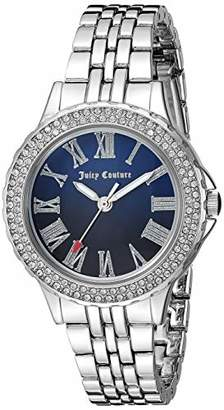 Juicy Couture Black Label Women's Swarovski Crystal Accented -Tone Bracelet Watch