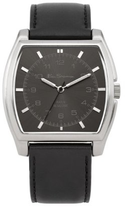 Ben Sherman (ベン シャーマン) - ベンシャーマンMen 's Quartz Watchグレーダイヤルアナログ表示とブラックPUストラップbs042