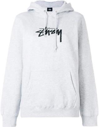Stussy logo hoodie