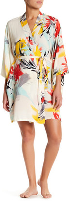 Josie Abstract Kimono Robe $68 thestylecure.com