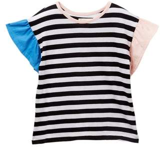 Tucker + Tate Color Block Stripe Tee (Toddlers, Little Girls, & Big Girls)