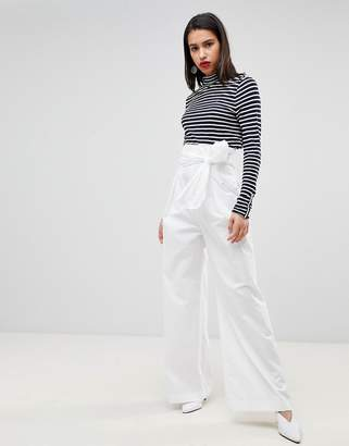 Sportmax CODE Code High Waisted Tie Up Pants