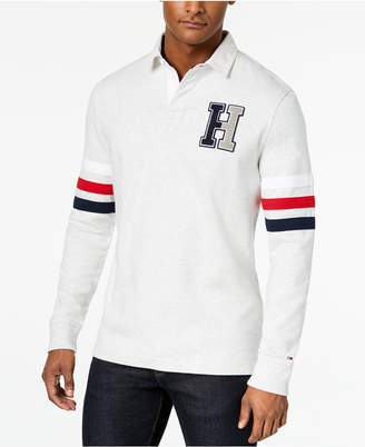 Tommy Hilfiger Men's Big & Tall Kunitz Rugby Classic Fit Polo Shirt