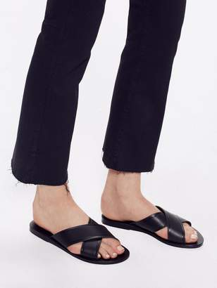 Ancient Greek Sandals Thais Vachetta - Black