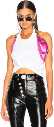Alexander Wang High Twist Halter Top