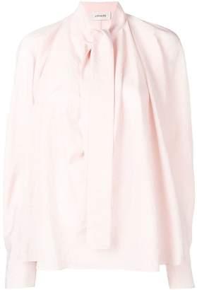 Lemaire bow crepe blouse