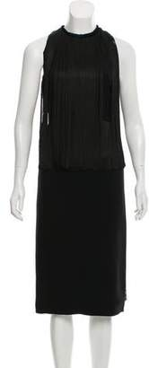 Stella McCartney Fringed Midi Dress