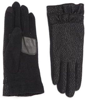 Echo Wool Flutter Cuff Gloves