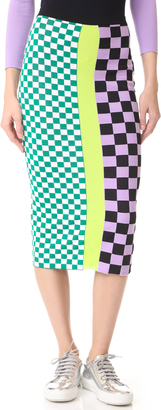 Versace Knit Skirt $875 thestylecure.com
