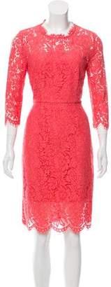 Rachel Zoe Lace Trim Sheath Dress w/ Tags