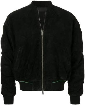 Haider Ackermann zipped-up bomber jacket