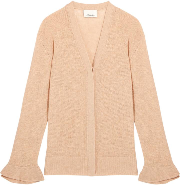 3.1 Phillip Lim3.1 Phillip Lim Open-knit wool-blend cardigan