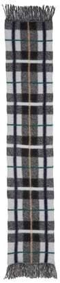 Stella McCartney Plaid Wool Scarf