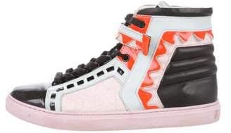 Sophia Webster Riko High-Top Sneakers