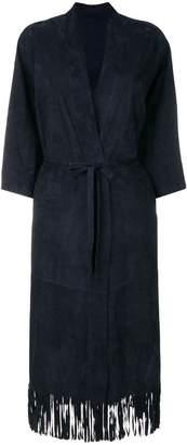 Salvatore Santoro belted coat