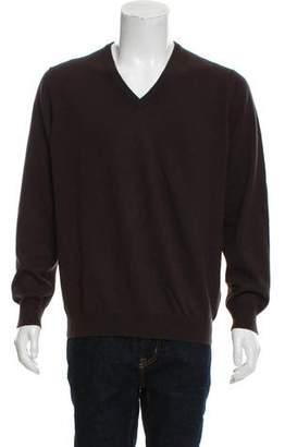 Malo Cashmere V-Neck Sweater