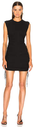 Alexander Wang High Twist Jersey Mini Dress