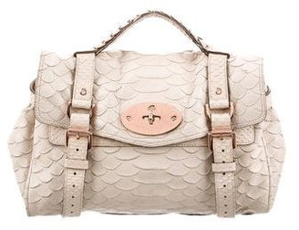 Mulberry Embossed Alexa Bag $475 thestylecure.com