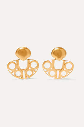 Paula Mendoza Cano X CANO x Atrato Gold-plated Earrings - one size