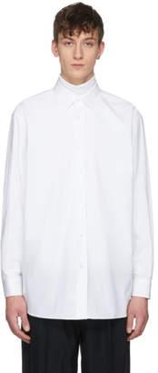 Raf Simons White Oversized Joy Division Substance Shirt