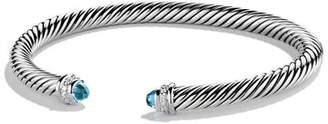 David Yurman Cable Classics Bracelet with Pearls and Diamonds