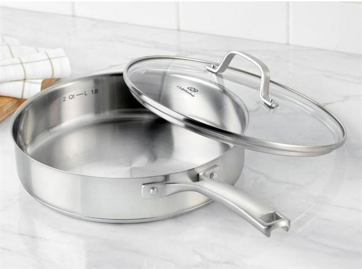 Calphalon 3-qt. Stainless Steel Classic Stainless Steel Saute Pan