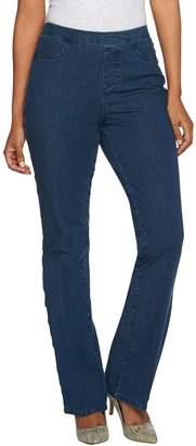 Isaac Mizrahi Live! Petite 24/7 Denim Boot Cut Jeans