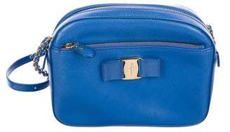 Salvatore Ferragamo Leather Vara Crossbody Bag