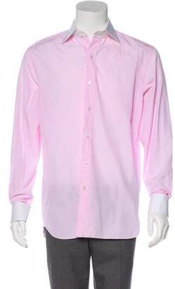 Tom Ford Woven French Cuff Dress Shirt