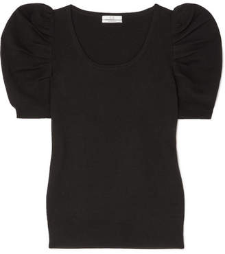 Co Merino Wool Top - Black