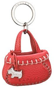 Radley Sukie Mini Handbag Charm, Red