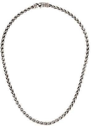 David Yurman Small Wheat Chain Necklace