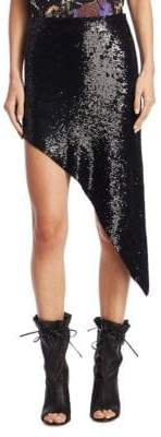 IRO Notrea Asymmetric Sequin Skirt
