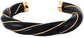 Aurelie Bidermann 18kt gold plated 'Diana' bangle