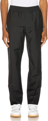 Acne Studios Ryder Cropped Trousers in Black | FWRD