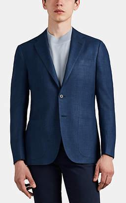 Sartorio Men's PG Silk-Blend Two-Button Sportcoat - Blue